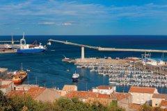 Vue du port de Sète depuis le Mont Saint-Clair. (© P. Eoche / GO Premium / GraphicObsession)