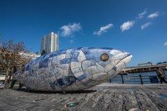 The Big Fish, Belfast. (© surangaw - Fotolia)