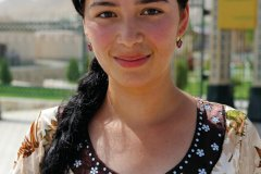 Portrait d'une jeune fille ouzbek. (© Patrice ALCARAS)