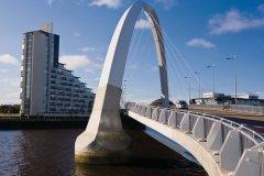 L'Arc Clyde et le pont Squinty. (© pjgs - iStockphoto.com)