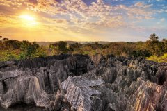 Tsingy de Bemaraha. (© dennisvdwater)