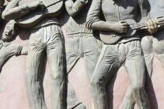 Bas relief à Mindelo (© Abdesslam Benzitouni)