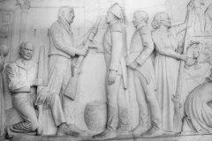 Bas-reliefs du Voortrekker monument. (© Dendenal - Shutterstock.com)