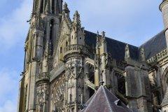 L'élégante cathédrale Notre-Dame de Senlis. (© Catherine FAUCHEUX)