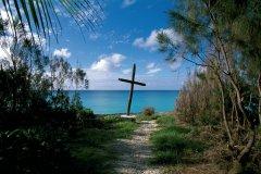 Croix plantée face à la mer. (© Author's Image)