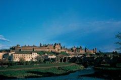 Remparts de la cité médiévale de Carcassonne (© TOM PEPEIRA - ICONOTEC.COM)