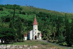 L'église de Tyé aux alentours de Poindimié (© Author's Image)