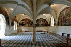 La salle capitulaire. (© Abbaye Royale de Fonteraud)