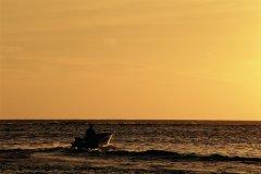 Grand-Bourg au coucher de soleil. (© Author's Image)