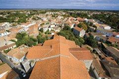 Les toits de Saint-Pierre-d'Oléron (© JONATHAN - Fotolia)