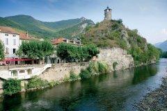 La tour du Castella - Tarascon-sur-Ariège (© PHOVOIR)