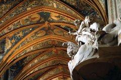 Intérieur de la cathédrale Sainte-Cécile d'Albi. (© Claudio Giovanni COLOMBO)