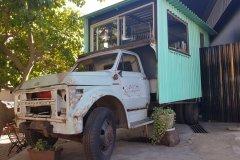 Food truck dans le quartier de Maboneng. (© Chloé OBARA)