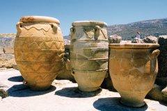 Amphores du site minoen de Cnossos. (© Author's Image)