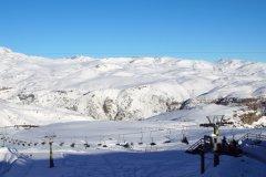 La station de ski de Farellones. (© gustavofrazao - Fotolia)