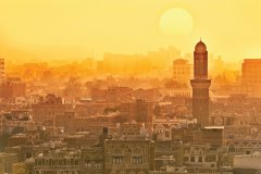 Sanaa, capitale politique du Yémen. (© ugurhan)
