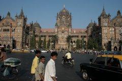 Le Chhatrapati Shivaji Terminus est classé au patrimoine mondial par l'Unesco depuis 2004. (© Pascal Mannaerts - www.parcheminsdailleurs.com)