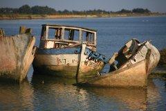 Épave de bateau de pêche (© Philippe Devanne - Fotolia)