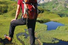 Randonneur dans les Alpes autrichiennes, Montafon. (© Netzer Johannes - Fotolia)