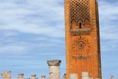 Mosquée de Yacoub el-Mansour, tour Hassan. (© Author's Image)