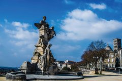 Statue Carnot Angoulême. (© Philippe B Images)