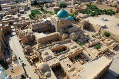 Vue générale d'Ichan Kala depuis le haut du minaret Islam Khodja. (© Patrice ALCARAS)
