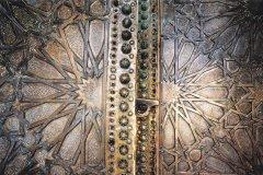 Porte de la mosquée Sidi Boumediene. (© Sébastien CAILLEUX)