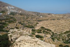Paysage de Folegandros. (© Ana JOVETIC-VUCKOVIC)