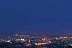Panorama de Nancy la nuit (© Stéphane Belin)