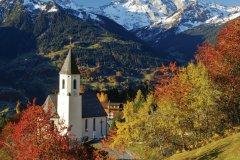 Chapelle du village de montagne Innerberg, Montafon. (© Netzer Johannes - Fotolia)