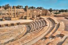 Amphithéâtre de Sbeïtla. (© Eleaner - iStockphoto)