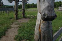 Site chamanique au bord de la route (© Stéphan SZEREMETA)