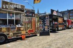 Food trucks au BBQ Fest de Québec. (© Valérie FORTIER)