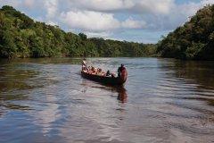 Le Camp Maripas, au bord de la rivière Kourou. (© Philippe GUERSAN - Author's Image)
