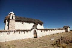 Église de Huchusuma, région d'Oruro. (© Arnaud BONNEFOY)