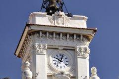 L'horloge de l'hôtel de ville d'Ajaccio (© Marc CECCHETTI - Fotolia)