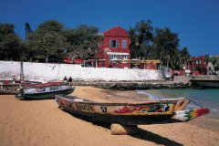 Village de l'île de Gorée. (© Tom Pepeira - Iconotec)