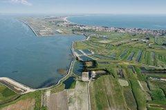 Vue aérienne de l'île de Noirmoutier, La Guérinière, La Tresson (© Philippe Devanne - Fotolia)