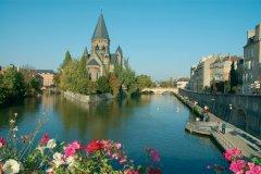Le Temple Neuf à Metz (© OLGA SHELEGO - FOTOLIA)