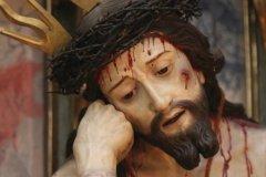 Christ ensanglanté dans la basilique Nuestra Señora del Pilar (© Stéphan SZEREMETA)