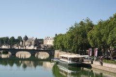 La rivière La Mayenne (© Office de Tourisme du Pays de Laval)