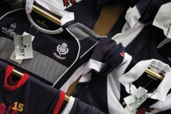Maillots de rugby écossais. (© Lawrence BANAHAN - Author's Image)