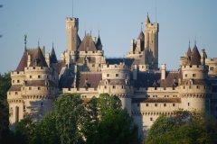 Le château de Pierrefonds restauré par Viollet-le-Duc. (© Christophe Tellier)