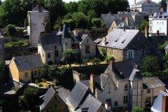 Le centre historique de Laval vu du donjon (© Office de Tourisme du Pays de Laval)
