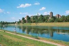 Château Royal de Wawel - Vistule. (© Author's Image)