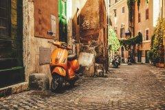 Rue de Trastevere. (© Eva-Katalin)