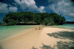 Sur la plage de l'îlot Maître. (© Author's Image)