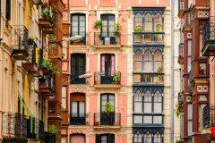 Façades typiques de Bilbao. (© Jon Chica - Shutterstock.com)