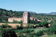 L'abbaye de Lagrasse (© IRÈNE ALASTRUEY - AUTHOR'S IMAGE)