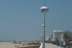 Esplanade de la Mer et plage (© Linda CASTAGNIE)